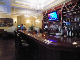 Elegant bar area