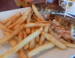 Lobster Reuben Sandwich