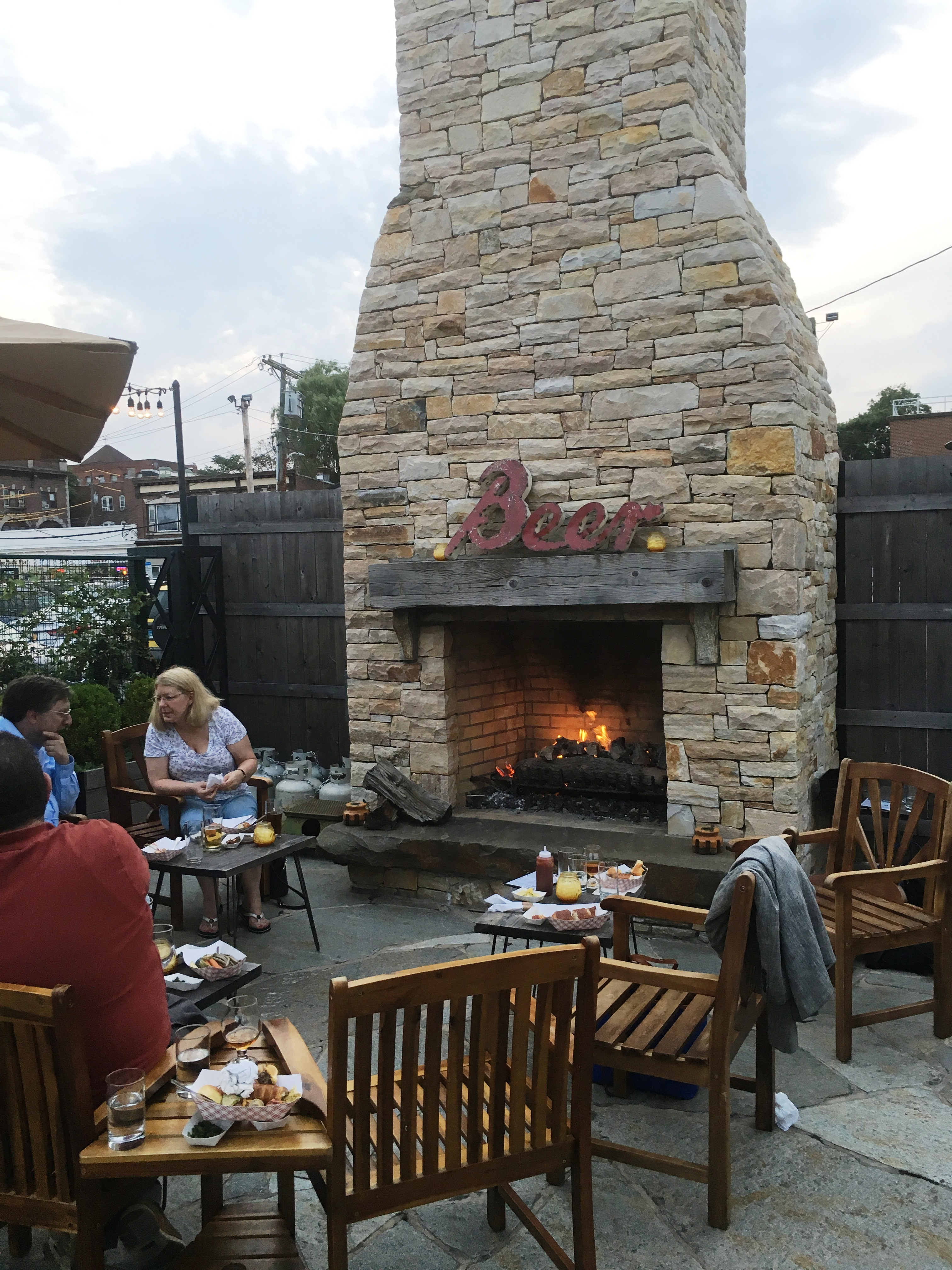 Village beer garden cheers to a fun addition to the - Village beer garden port chester ...