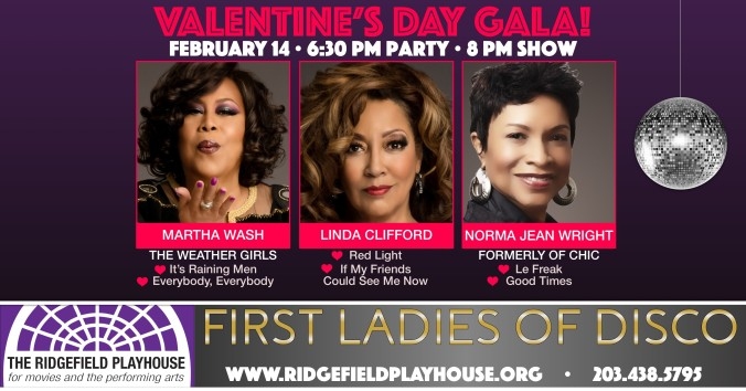 First Ladies of Disco social media graphic